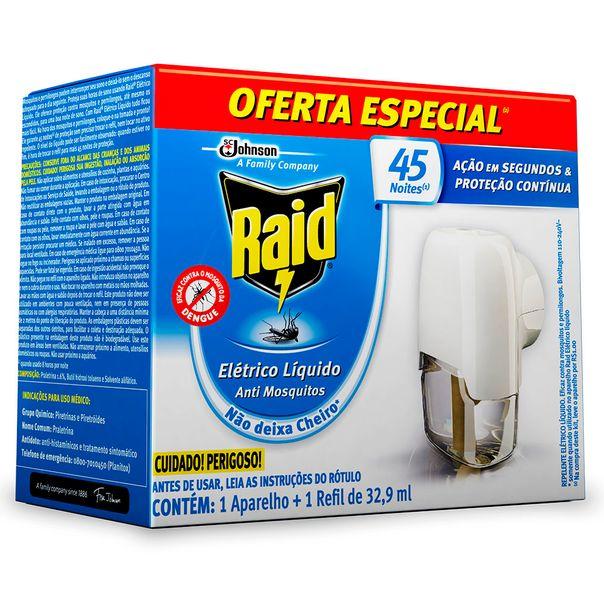 Inseticida-Eletrico-Raid-45-Noites-Aparelho-Oferta-Especial-32.9ml