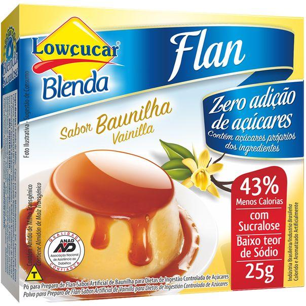 Pudim-Baunilha-Lowcucar-25g