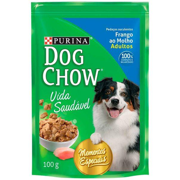 Alimento-para-Caes-Dog-Chow--Frango-ao-Molho-Sache-100g