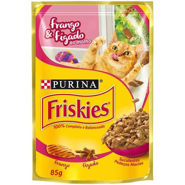 Alimento-para-Gatos-Friskies-Frango-e-Figado--Sache-85g
