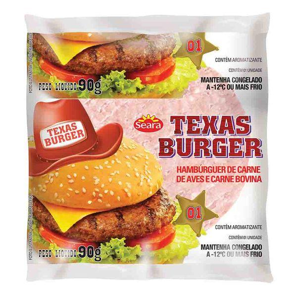 Hamburguer-Bovino-Texas-Burger-90g