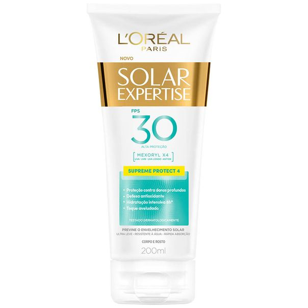 Protetor-Solar-Loreal-Expertise-Supreme-FPS30-200ml