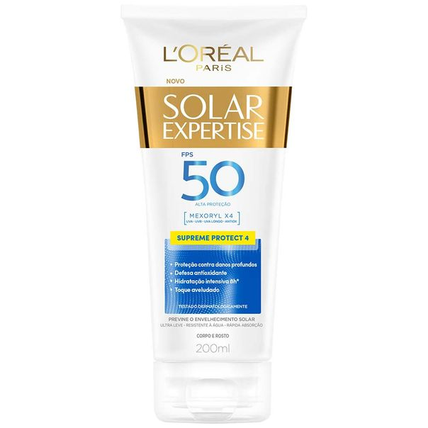 Protetor-Solar-Loreal-Expertise-Supreme-FPS50-200ml