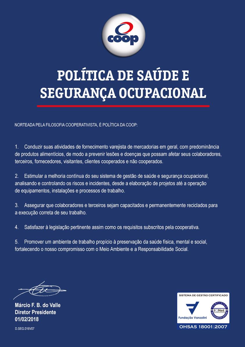Imagem - Política SSO