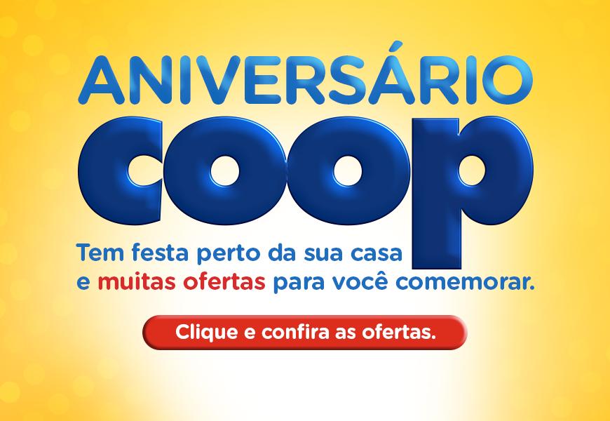 Banner Ofertas de Aniversário Coop