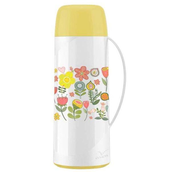 Garrafa-termica-coral-lily--yellow-garden-Invicta1-litro
