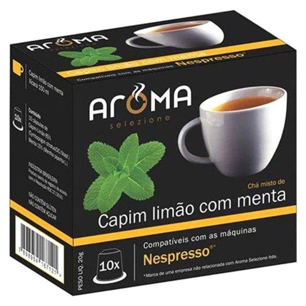Capsulas-de-cha-limao-com-menta-Aroma-Selezione-20g