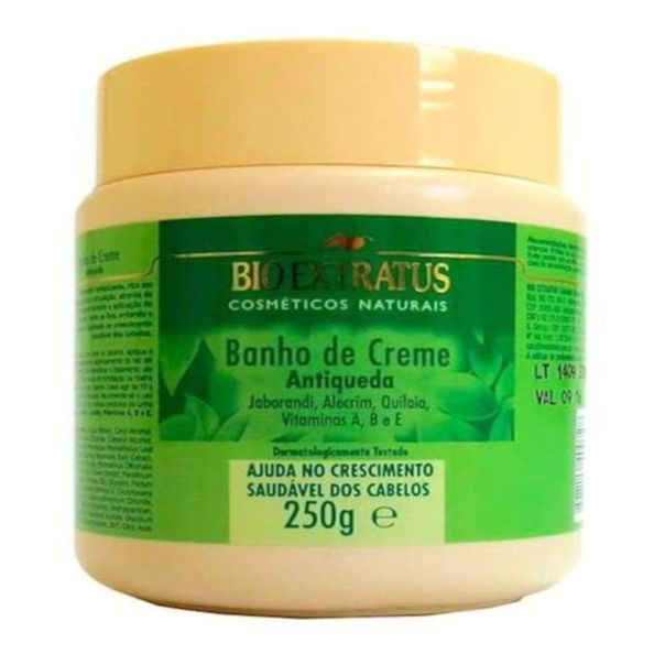 Creme-de-tratamento-banho-de-creme-antiqueda-jaborandi-Bio-Extratus-250g