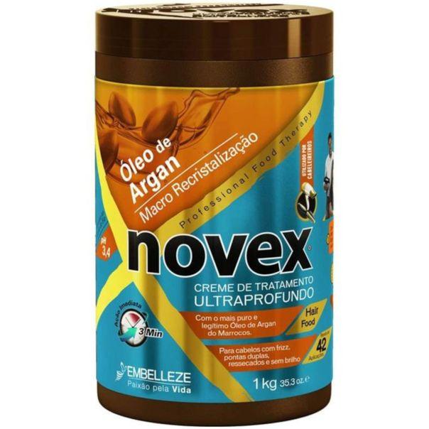 Creme-para-cabelo-therapy-profissional-oleo-de-argan-pote-Novex-1kg