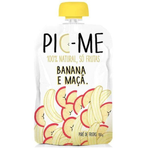 Pure-de-frutas-100--natural-sabor-banana-e-maca-Pic-Me-100g