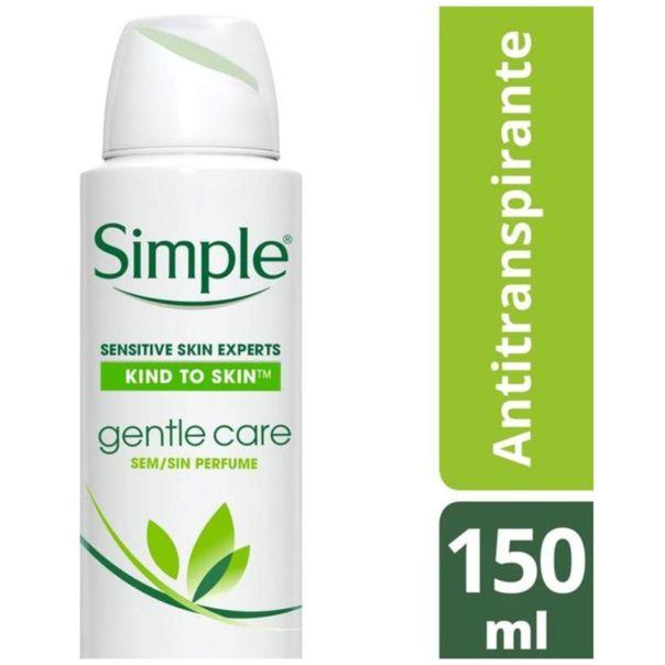 Desodorante-antitranspirante-aerossol-Simple-gentle-care-150ml