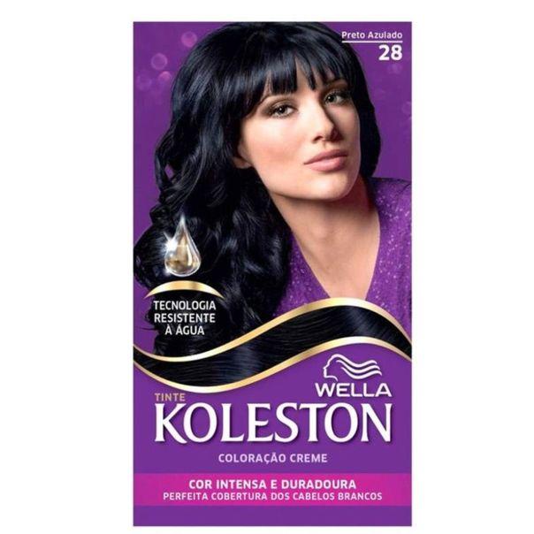 Tintura-permanente-creme-kit-gloss-28-preto-azulado-Koleston