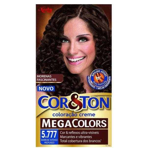 Tinta-permanente-para-cabelo-mega-5.777-marrom-intenso-profundo-Cor---Ton-135g