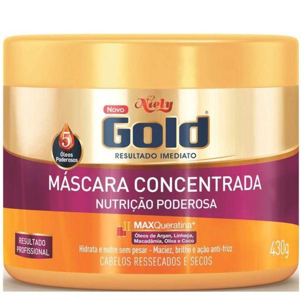 Mascara-capilar-nutricao-poderosa-pote-Niely-Gold--430g