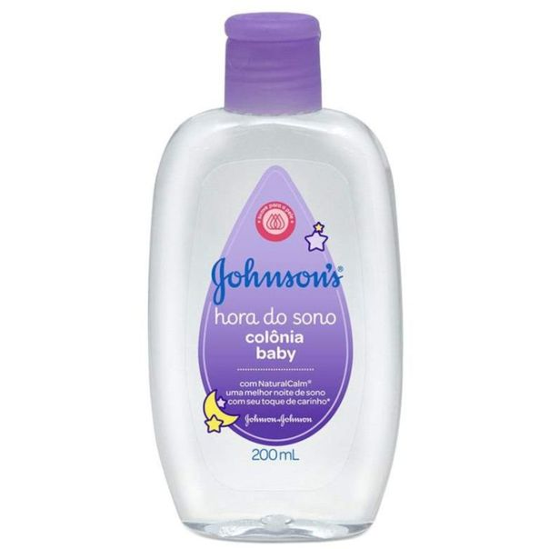 Colonia-baby-hora-do-sono-Johnson-s-200ml