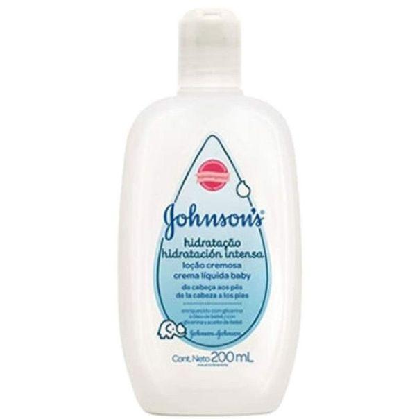 Locao-hidratante-infantil-baby-hidratacao-intensa-Johnson-s-200ml