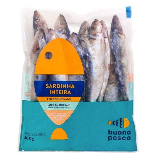 Sardinha-inteira-peixe-congelado-Buona-Pesca-800g
