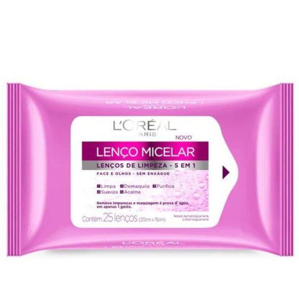 Lenco-de-limpeza-micelar-5-em-1-L-oreal-com-25-lencos