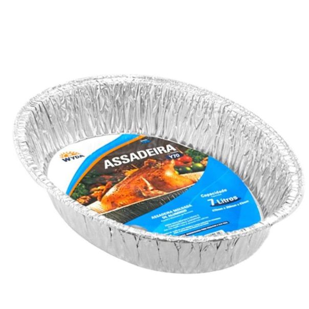 Assadeira-oval-descartavel-de-aluminio-Wyda-7l