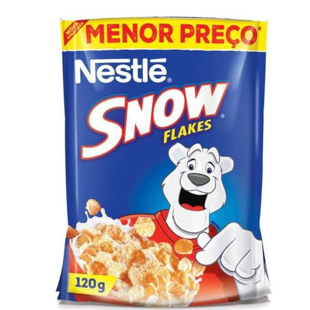 Cereal-matinal-snow-flakes-sache-Nestle-120g