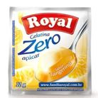 Gelatina-zero-acucar-sabor-tangerina-Royal-12g