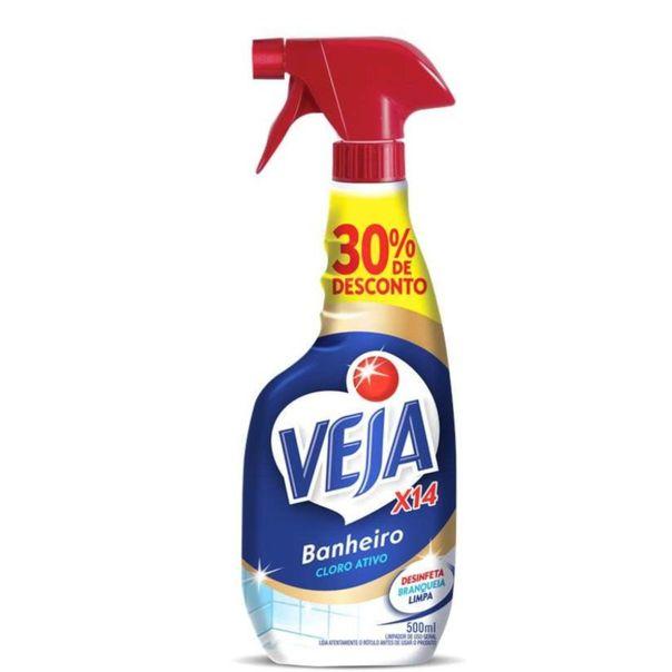 Limpa-banheiro-X-14-tira-limo-pulverizador-com-30--de-desconto-Veja-500ml