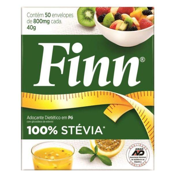 Adocante-em-po-100--stevia-com-50-unidades-Finn-40g