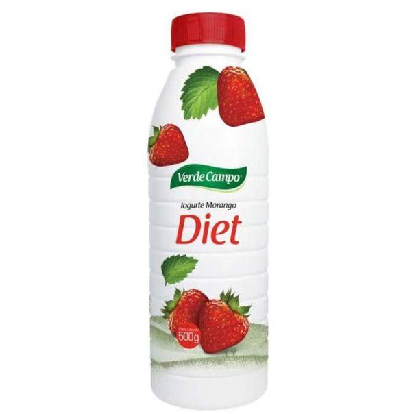 Iogurte-diet-sabor-morango-Verde-Campo-500g
