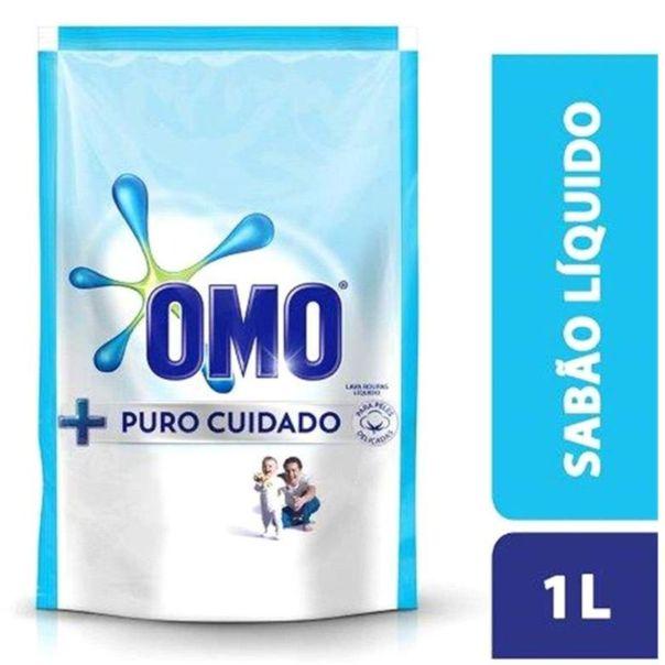 Lava-roupa-liquido-puro-cuidado-refil-Omo-1-litro