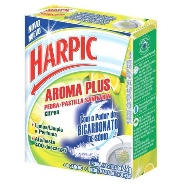 Pedra-sanitaria-aroma-plus-citrus-Harpic-25g