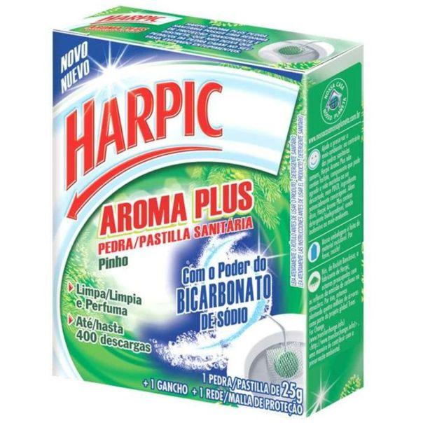 Pedra-sanitaria-aroma-plus-pinho---1-gancho---1-rede-de-protecao-Harpic