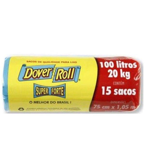 Saco-de-lixo-super-forte-preto-com-15-unidades-Dover-Roll-100-litros