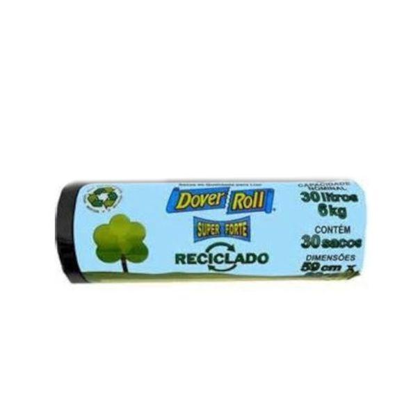 Saco-para-lixo-reciclavel-super-forte-com-30-unidades-Dover-Roll-30-litros