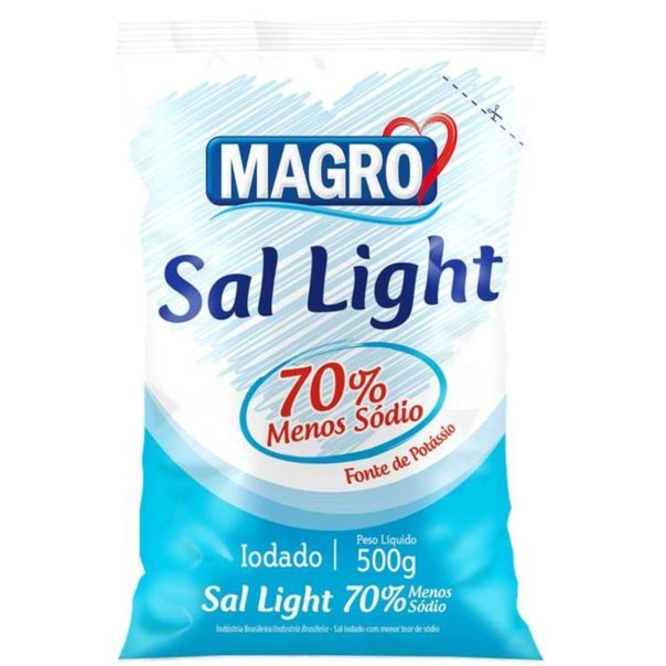 Sal-light-Magro-500g