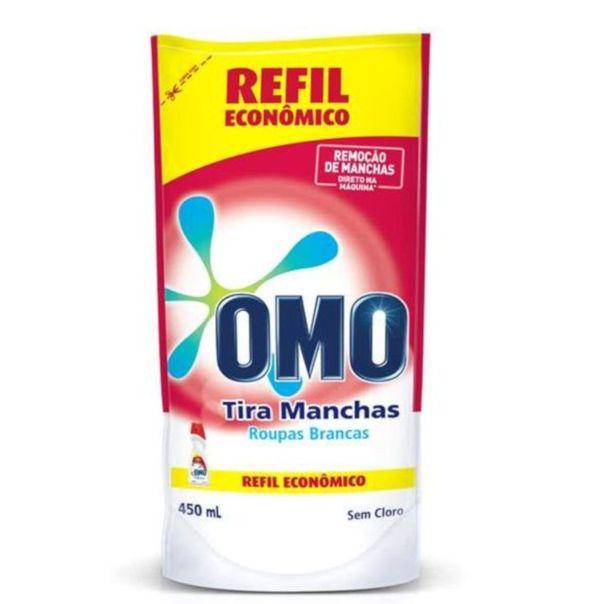 Tira-manchas-liquido-roupas-brancas-sem-cloro-refil-Omo-450ml