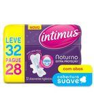 Absorvente-noturno-extra-protecao-suave-com-abas-leve-32-e-pague-28-unidades-Intimus