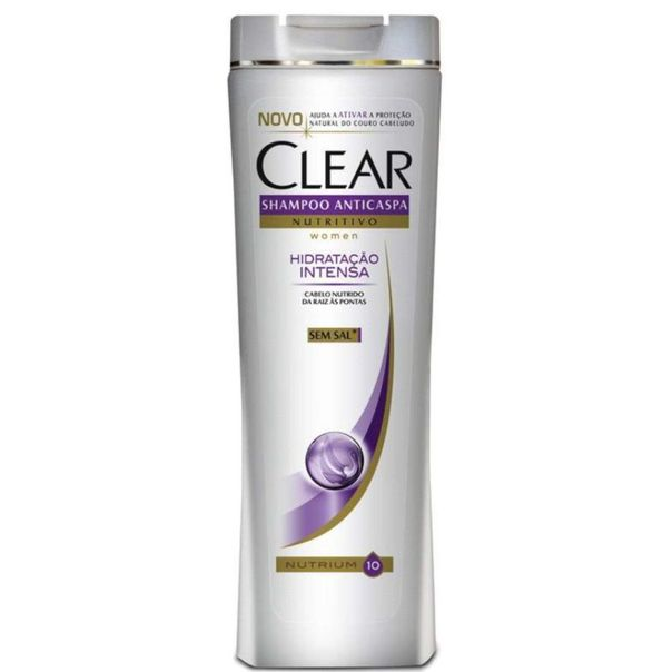 Shampoo-anticaspa--women-hidratacao-intensa-Clear-200ml