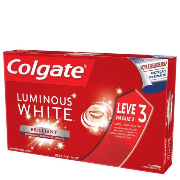 Creme-dental-luminous-white-brillant-white-leve-3-pague-2-Colgate-70g