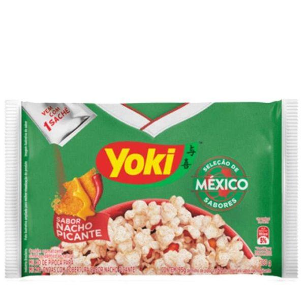 Milho-para-pipoca-de-microondas-com-cobertura-de-nacho-picante-Yoki-100g