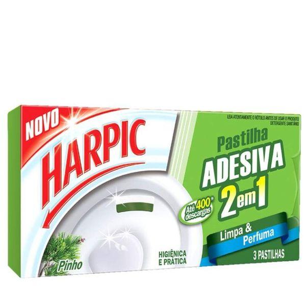 Pastilha-adesiva-2-em-1-pinho-com-3-unidades-Harpic