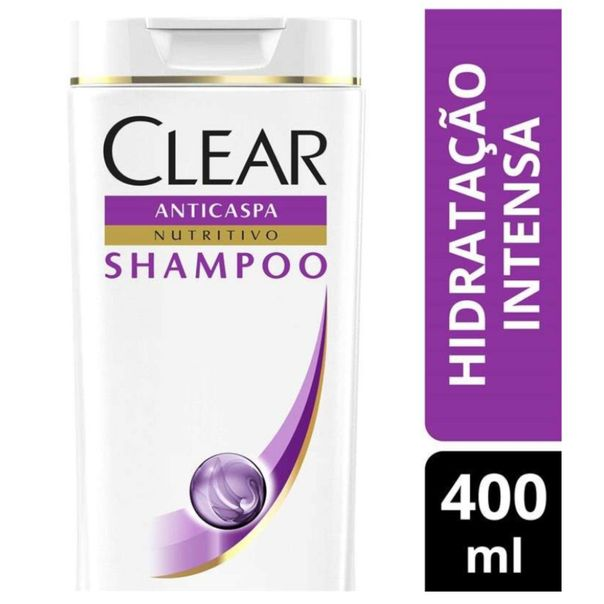Shampoo-anticaspa-women-hidratacao-intensa-Clear-400ml