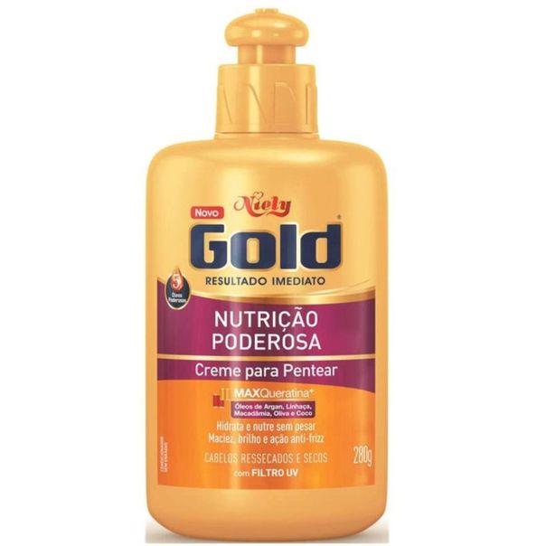 Creme-para-pentear-nutricao-poderosa-Niely-Gold-280g