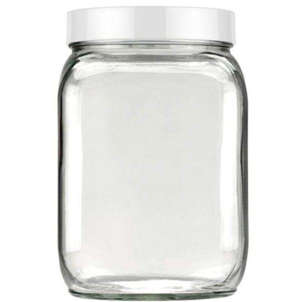 Pote-de-Vidro-quadrado-Branco-Invicta-13-litros