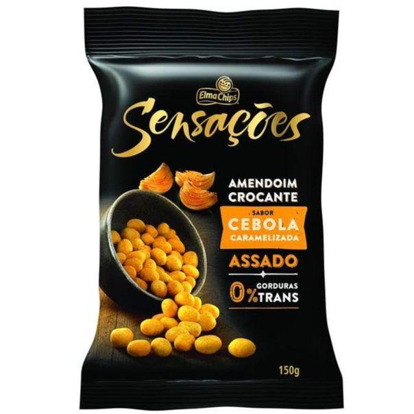 Amendoim-crocante-assadas-sensacoes-sabor-cebola-caramelizada-Elma-Chips-150g
