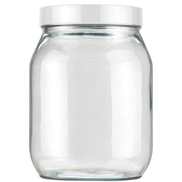 Pote-de-vidro-liso-branco-Invicta-13-litros
