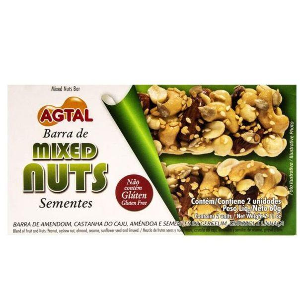Barra-mixed-nuts-sementes-Agtal-60g