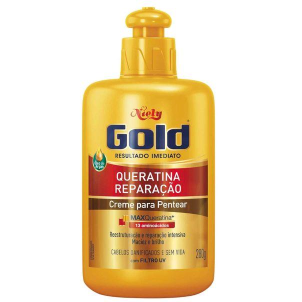 Creme-para-pentear-queratina-reparacao-Niely-Gold-280g