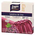 Gelatina-em-po-zero-acucar-sabor-uva-Linea-10g