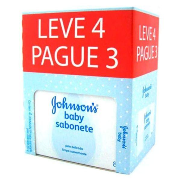 Sabonete-em-barra-branco-baby-leve-4-pague-3-Johnson's-80g