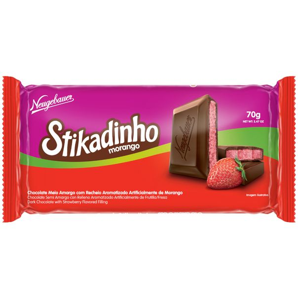 Tablete-de-chocolate-stikadinho-de-morango-Neugebauer-70g